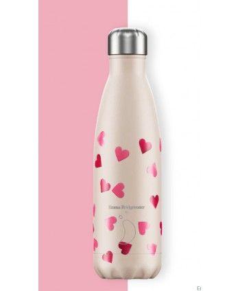 Botella Pink Hearts