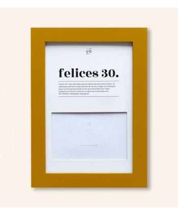 MARCO DE FOTOS FELICES 30