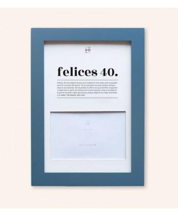 MARCO DE FOTOS FELICES 40