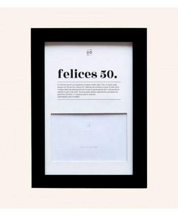 MARCO DE FOTOS FELICES 50
