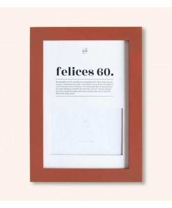 MARCO DE FOTOS FELICES 60.