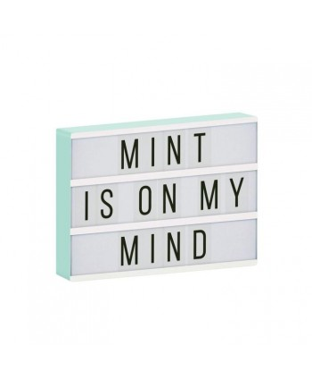 LIGHTBOX A4 VERDE MINT- A...